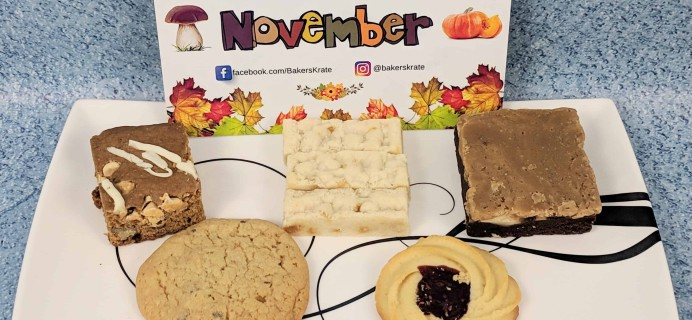 Bakers Krate November 2018 Subscription Box Review + Coupon!