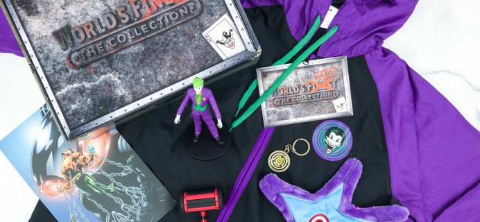 DC Comics World's Finest: The Collection Fall 2018 Box Review – VILLAINS