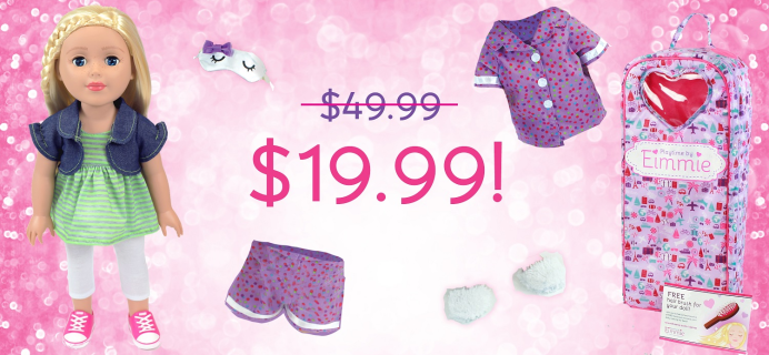Club Eimmie Holiday Coupon: Get $30 Off On Eimmie OR Allie Dolls!