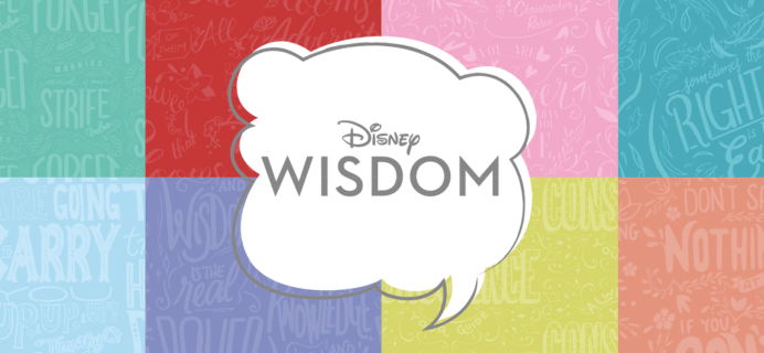 Disney Wisdom Collectible Series Coming Soon + January 2019 Spoilers!
