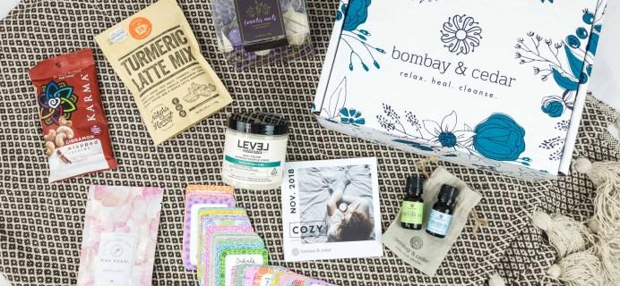 Bombay & Cedar November 2018 Subscription Box Review + Coupon