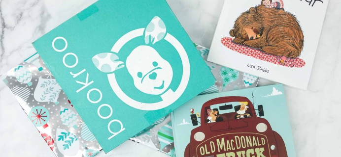Bookroo December 2018 Subscription Box Review + Coupon – PICTURE BOOKS