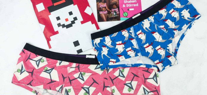 MeUndies December 2018 Subscription Review – Women's