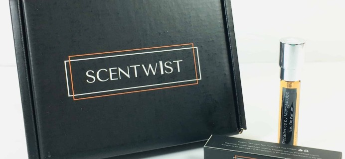 Scentwist December 2018 Subscription Box Review + Coupon
