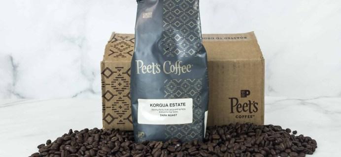 Peet's Coffee Explorer Series December 2018 Subscription Box Review
