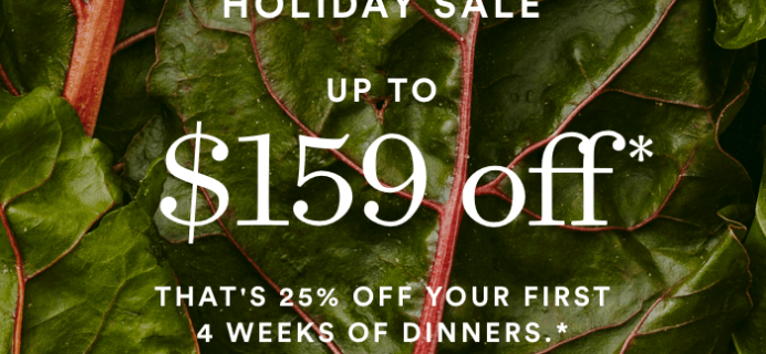 Plated Holiday Coupon: Get Up To $159 Off!