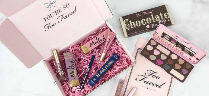 Too Faced Cyber Monday 2018 Mystery Bag Review