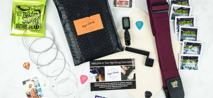 High-Strung Subscription December 2018 Subscription Box Review + Coupon