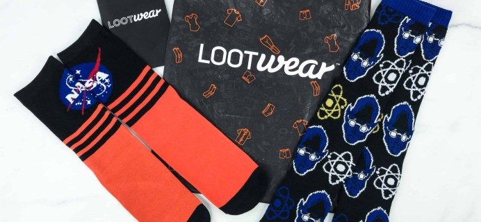 Loot Socks by Loot Crate November 2018 Subscription Box Review & Coupon