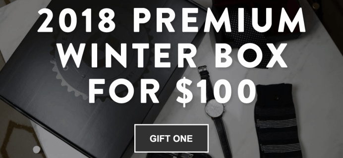 Gentleman's Box Premium Coupon: Save $40!