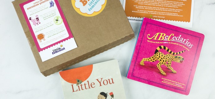 Little Feminist Book Club December 2018 Subscription Box Review + Coupon – BOARD BOOK