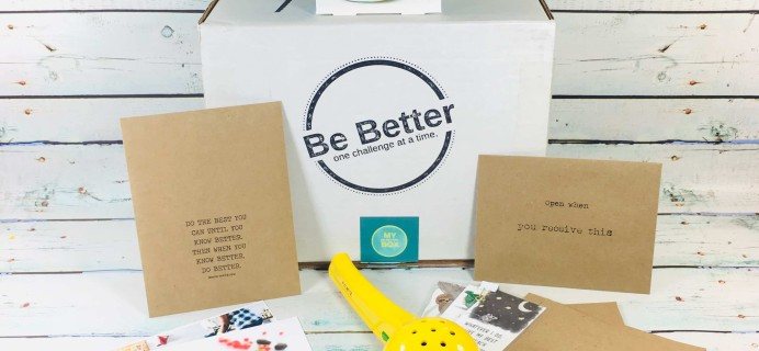 My Be Better Box January-February 2019 Subscription Box Review