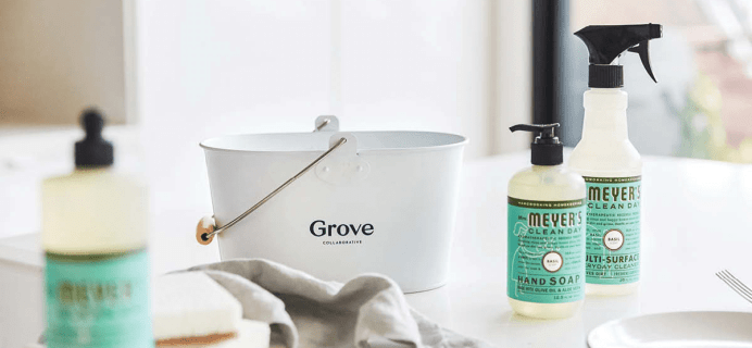 FREE Mrs. Meyer's New Year Gift Set with Grove Collaborative $20 Purchase!