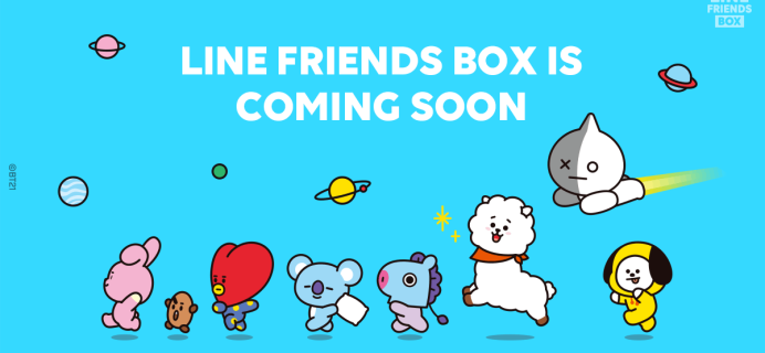 New Subscription Boxes: LINE Friends Box Coming Soon!