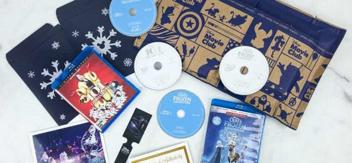 Disney Movie Club December 2018 Review + Coupon!
