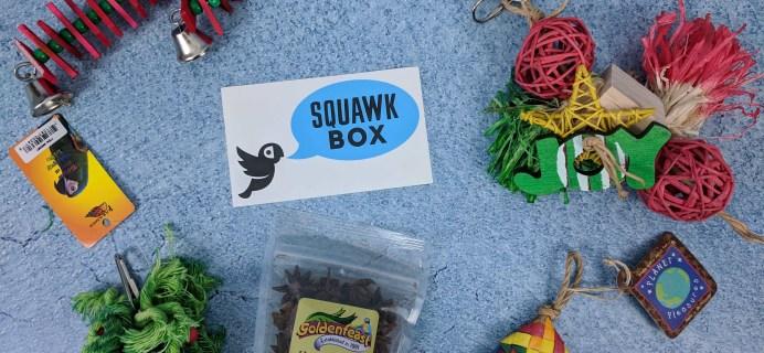 Squawk Box December 2018 Subscription Review