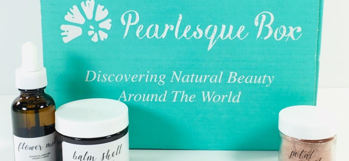Pearlesque Box December 2018 Subscription Box Review + Coupon