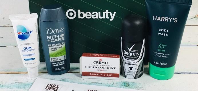 Target Beauty Box for Men Review December 2018