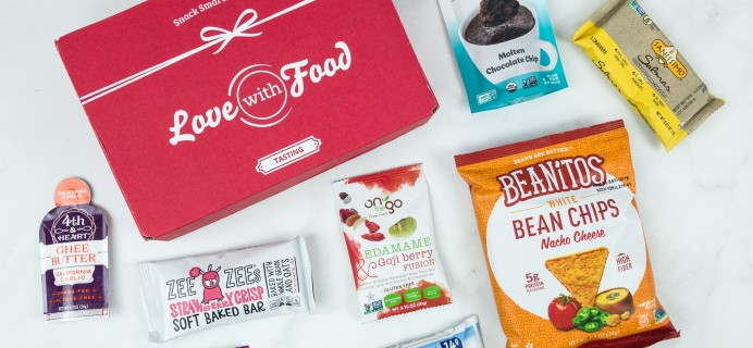 Love With Food December 2018 Tasting Box Review + Coupon!