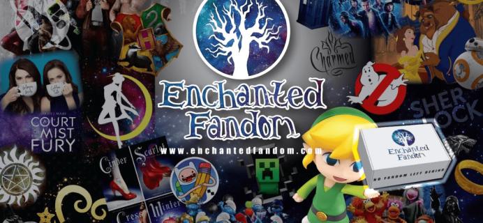 Enchanted Fandom July 2019 Spoiler #1 + Coupon!