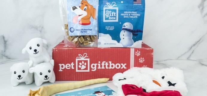 PetGiftBox December 2018 Subscription Box Review + 50% Off Coupon