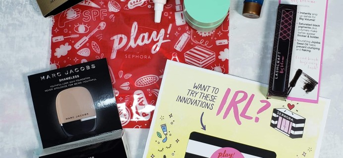PLAY! by Sephora Subscription Box Review – September 2018