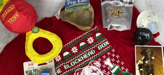Blockhead Box December 2018 Subscription Box Review + Coupon