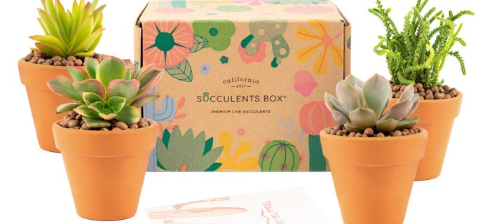 Succulents Box Holiday Coupon: Get $5 Off On Subscriptions!