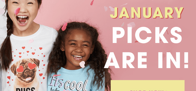 FabKids January 2019 Collection + Coupon!
