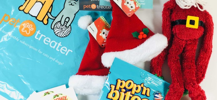Pet Treater Cat Pack December 2018 Subscription Box Review + Coupon