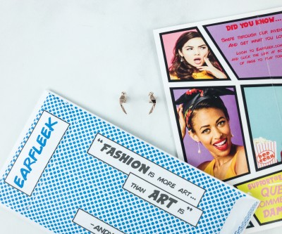 EarFleek Premium Silly Fun December 2018 Subscription Box Review + Coupon