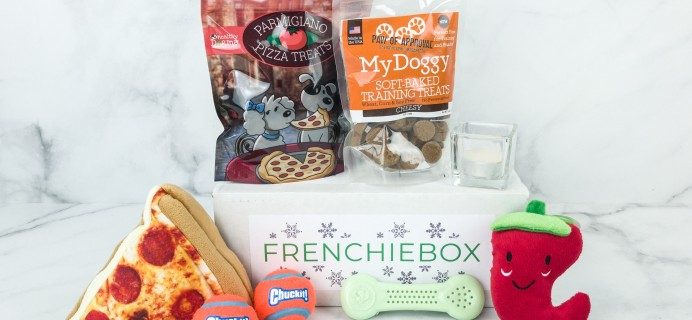 FrenchieBox December 2018 Subscription Box Review + Coupon – PREMIUM BOX
