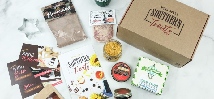 Mama June's Southern Treats Winter 2018 Subscription Box Review + Coupon