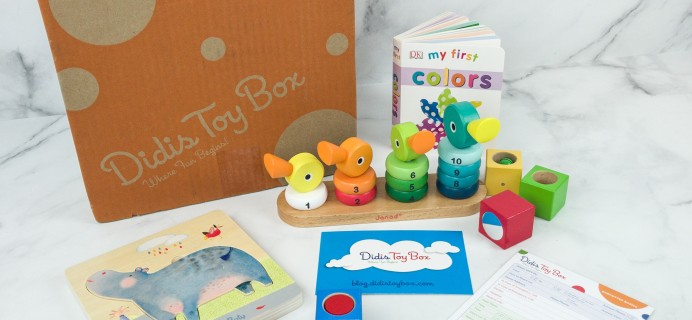 Didis Toy Box January 2019 Subscription Box Review & Coupon