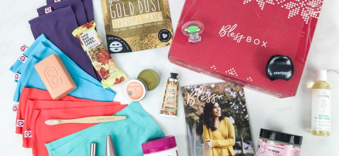 Bless Box December 2018 Subscription Box Review & Coupon