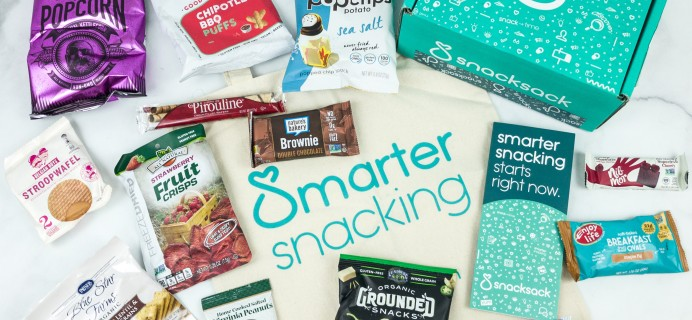 SnackSack December 2018 Subscription Box Review & Coupon – Classic