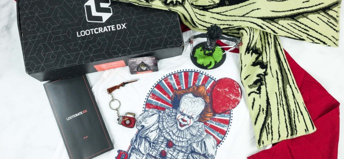 Loot Crate DX October 2018 Subscription Box Review & Coupon
