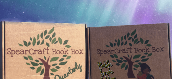 SpearCraft Book Box Quarterly Spring 2019 Available Now + Theme Spoilers!
