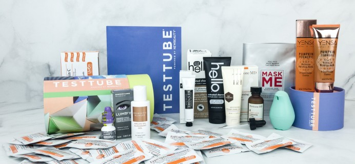 New Beauty Test Tube January 2019 Subscription Box Review