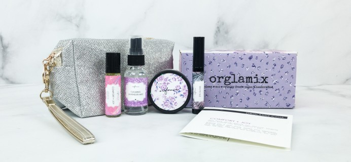 Orglamix December 2018 Subscription Box Review & Coupon
