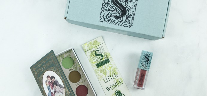 Storybook Club Cosmetics Book Club Box Review – LITTLE WOMEN