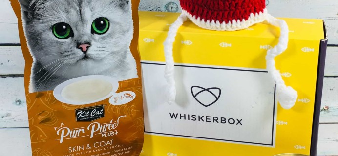 Whiskerbox December 2018 Subscription Box Review + Coupon