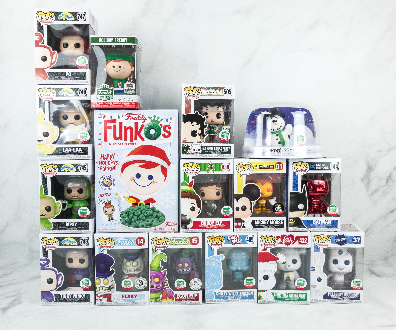 Funko 12 Days Of Christmas 2020 Funko 12 Days of Christmas 2018 Bundle Unboxing   hello subscription