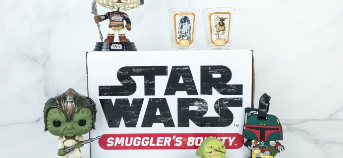 Smuggler's Bounty December 2018 Subscription Box Review – JABBA'S SKIFF Box!