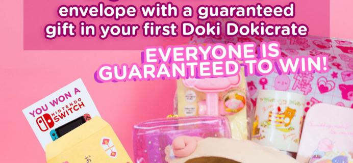 Doki Doki Coupon: Get A Bonus Gift With Your First Box!