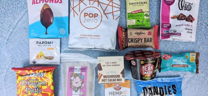 Vegan Cuts Snack Box December 2018 Subscription Box Review