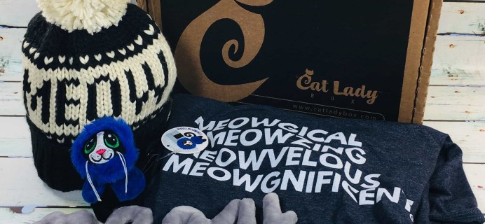 Cat Lady Box January 2019 Subscription Box Review + Coupon