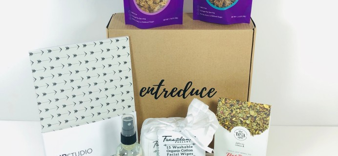 Entreduce January 2019 Subscription Box Review + Coupon!
