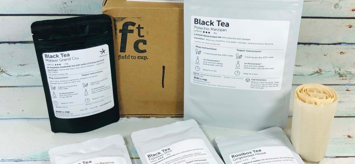 Field To Cup January 2019 Subscription Box Review + Coupon – Discoverer Black Box