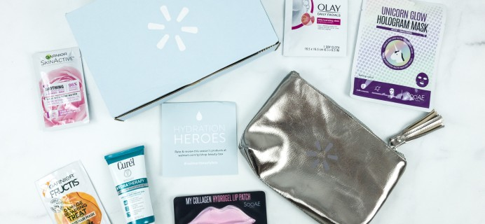 Walmart Beauty Box Winter 2018 Review – Trendsetter Box